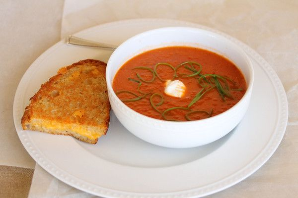Roasted Tomato and Pepper Soup | Food | Pinterest