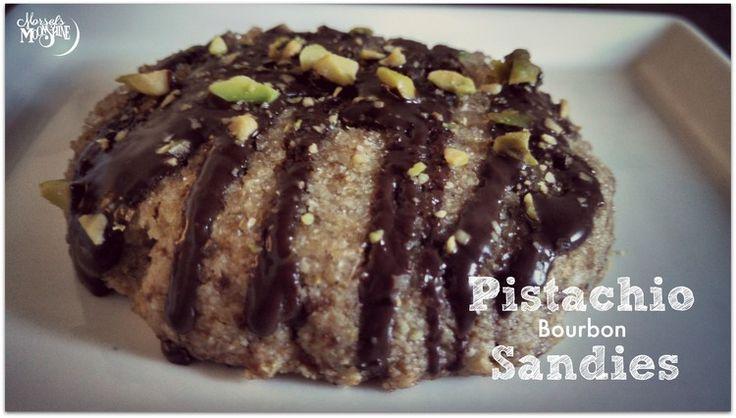 Pistachio Bourbon Sandies — Morsels & Moonshine