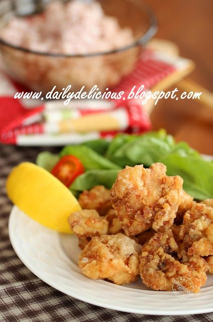... thai: Karaage Fried Chicken: Delicious Japanese style fried chicken