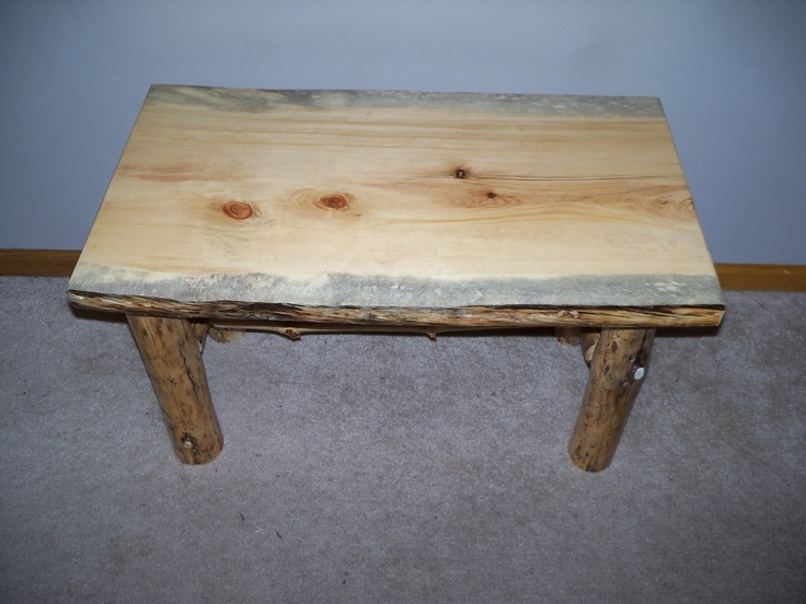 Log End Table And Coffee Table Products I Love Pinterest