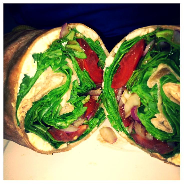 egg wrap avocado feta and cabbage wrap recipes dishmaps lettuce wrap ...