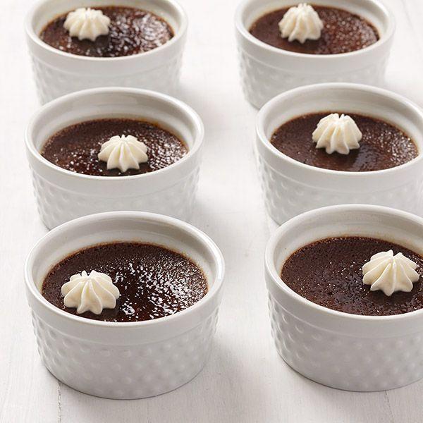 Dark Chocolate-Cherry Crème Brûlée | Kitchen Time - Desserts ...