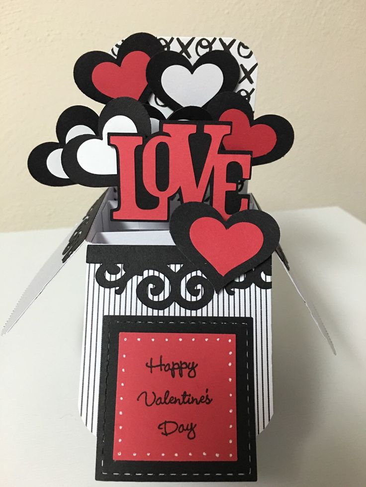 465 best card in a box images on Pinterest | Explosion box, Pop up ...