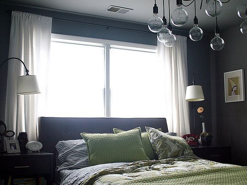 Bed Against The Window For The Home Pinterest