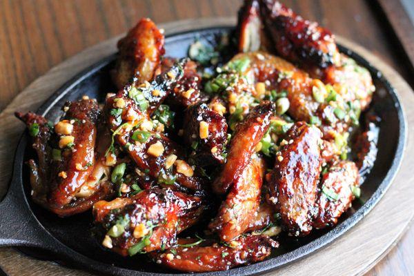 Thai Sticky Chicken Wings | Asian Cuisine & Sushi | Pinterest