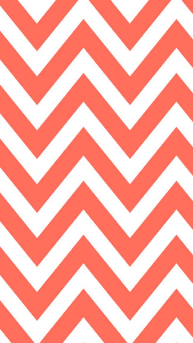 Orange and white chevron wallpaper pattern     Orange Chevron Wallpaper