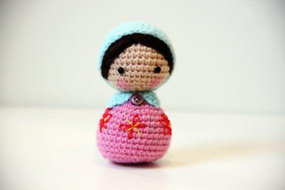 Amigurumi Nesting Dolls : Amigurumi Crochet Matryoshka Doll