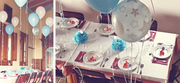 Decoracion Bautizo En Jardin ~ decoraci?n sal?n de bautizo en azul  Delgraphica parties