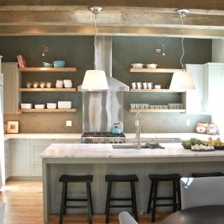 Santa Fe Style Kitchen Home Pinterest