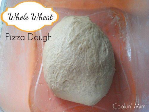 White Whole Wheat Pizza Dough Recipe — Dishmaps