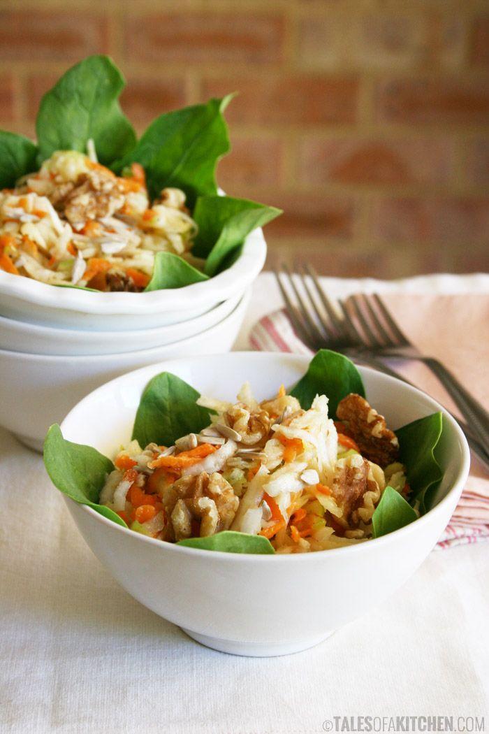 Spinach Salad With Honey Mustard Vinaigrette Recipes — Dishmaps