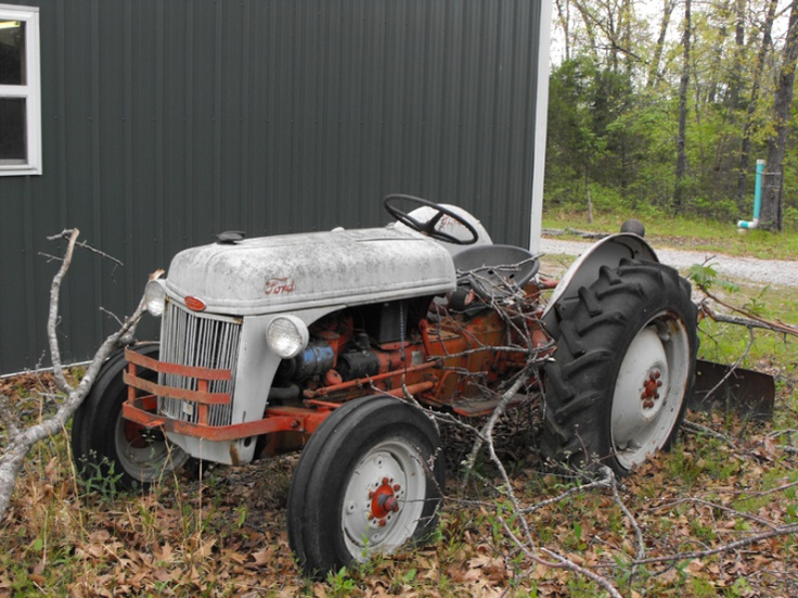 1953 ford tractor farm happiness pinterest