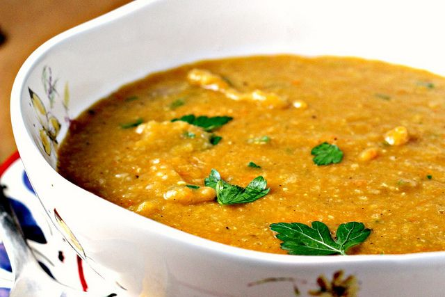 Red Lentil Soup with Lemon {eat.live.be.} - Joanne Eats Well With ...