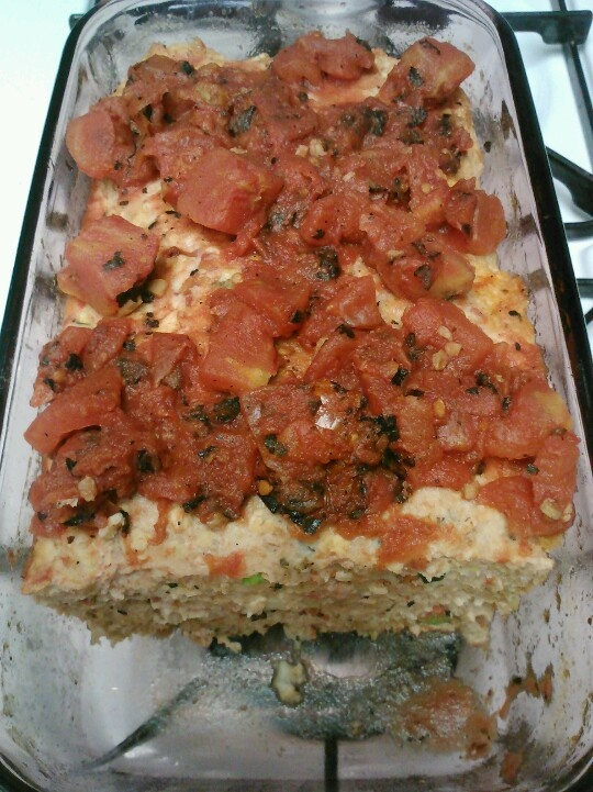 Fire Roasted Turkey Meatloaf - Didn't really follow a recipe but added ...