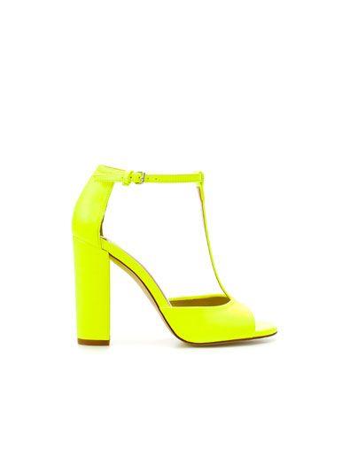 Zara, Neon Heels!! <3 drool!!!  $89.90