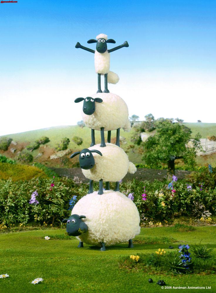 年賀状 2015 年賀状 ひつじ : Shaun the Sheep Movie
