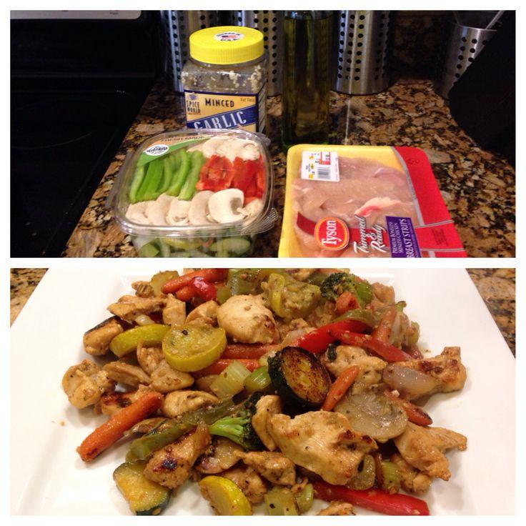 Easy chicken stir fry | Stafford Boot Camp Diet | Pinterest