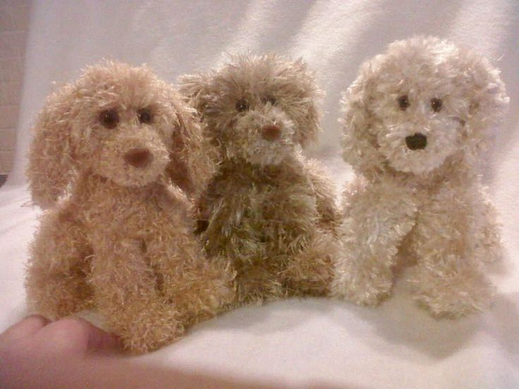 Knitting Patterns For Toy Dogs : Knitted Pocket Puppy USDUSD pattern Knitting Pinterest