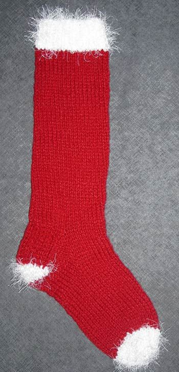 Easy Stocking Knitting Pattern : Christmas Stocking Knitting Pattern Knit Christmas stockings Pint?