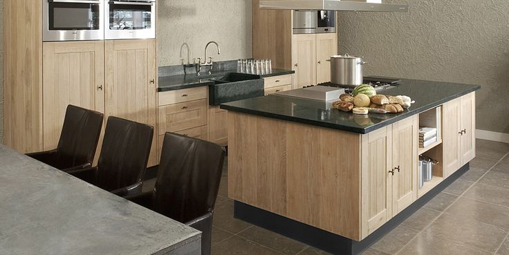 Keuken Strak Hout : houten keuken strak Kitchen Pinterest