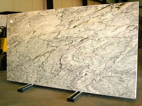 White Ice Granite Slab For The Home Pinterest