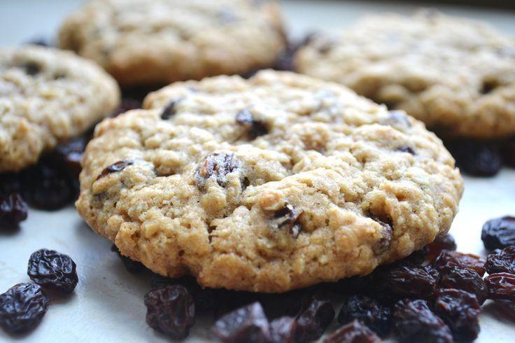 Chewy Oatmeal Raisin Cookies Recipe — Dishmaps