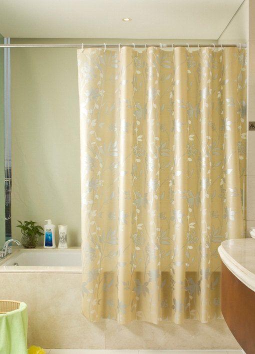 PEVA shower curtain/leaf/flower/ orinigal design/kids shower curtain
