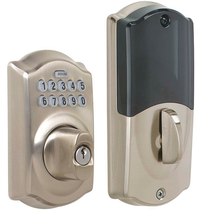 Schlage Be369 Cam 619 Schlage Link Wireless Z Wave Keypad