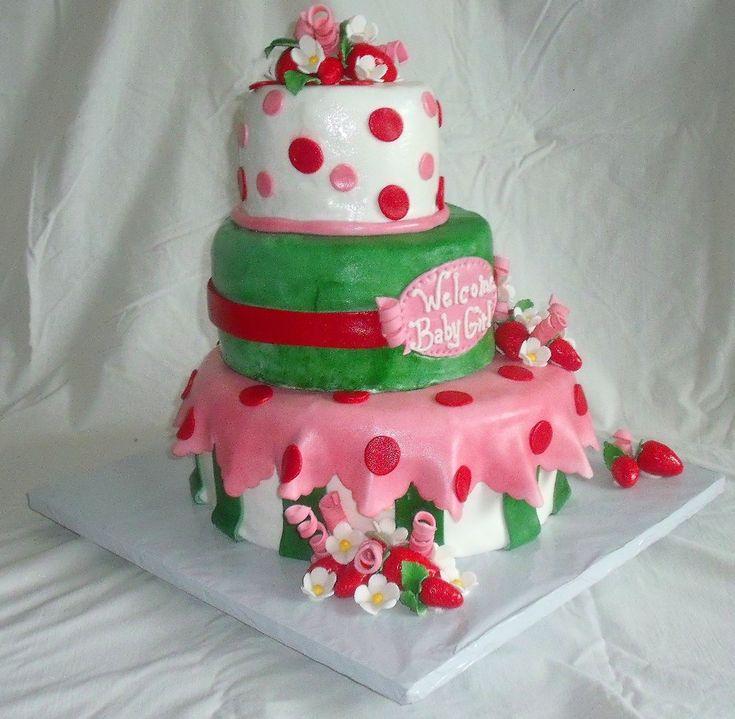 strawberry shortcake baby shower baby shower ideas pinterest
