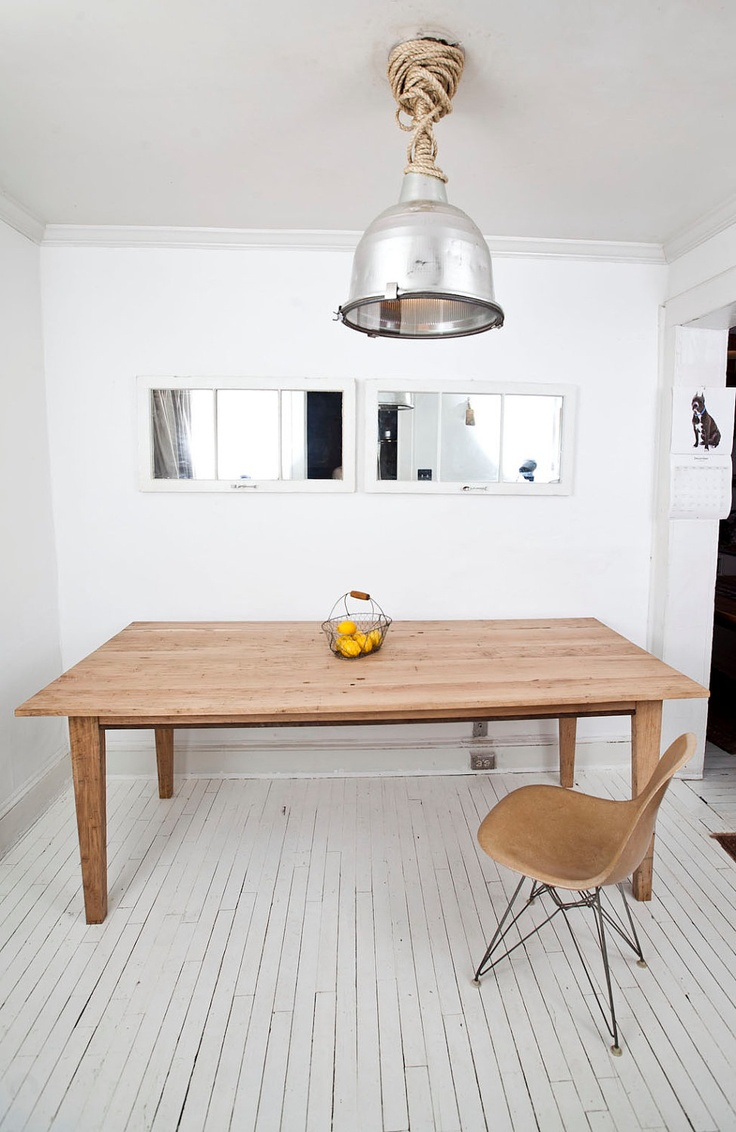 White Oak Dining Table And Chairs