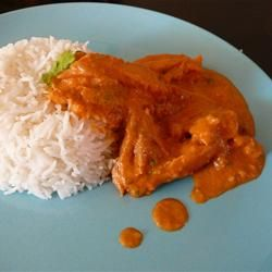 Easy Indian Butter Chicken - This was SO good!! And easy!