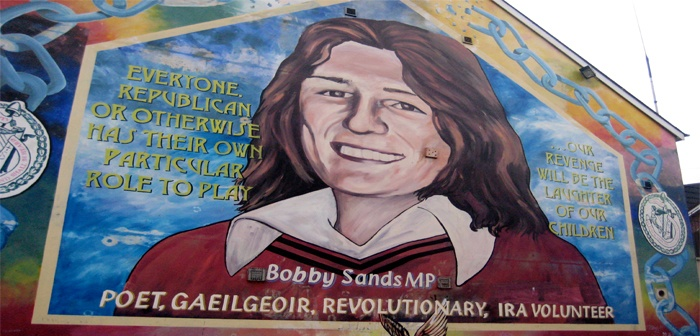 Quotes by bobby sands like success for Bobby sands mural