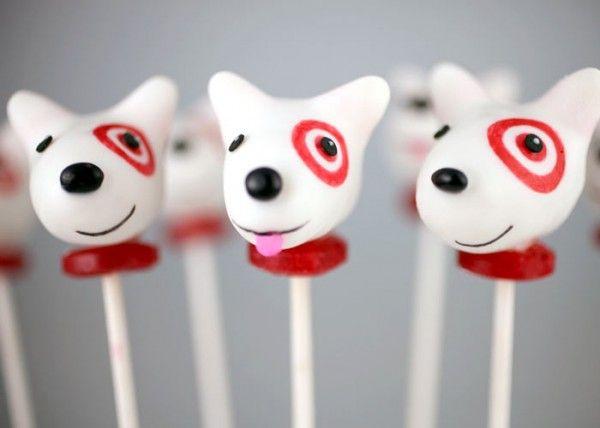 #Recipe & How To: Bullseye the Target Dog #CakePops http://www.surfandsunshine.com/bullseye-target-dog-cake-pops-recipe/