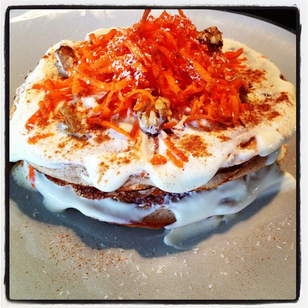 Carrot Cake Pancakes | breakfasts | Pinterest