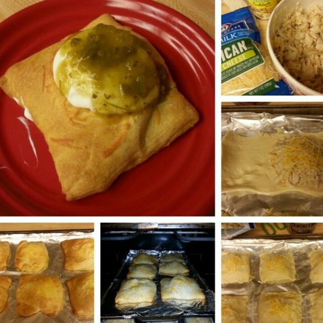 Yummy chicken enchilada pockets and sooo easy! Thanks Dolores!