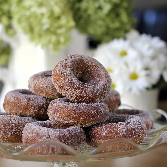Baked Cider Doughnuts | Doughnuts and Danishes | Pinterest