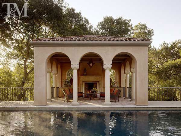 Spanish Revival Entrancing Of Spanish Revival Fireplace Design Image