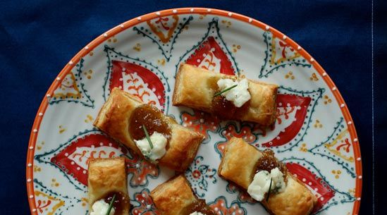 Fig and Blue Cheese Bites   Recipe