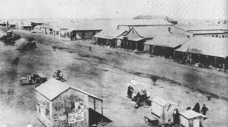Mark straat in johannesburg in 1887