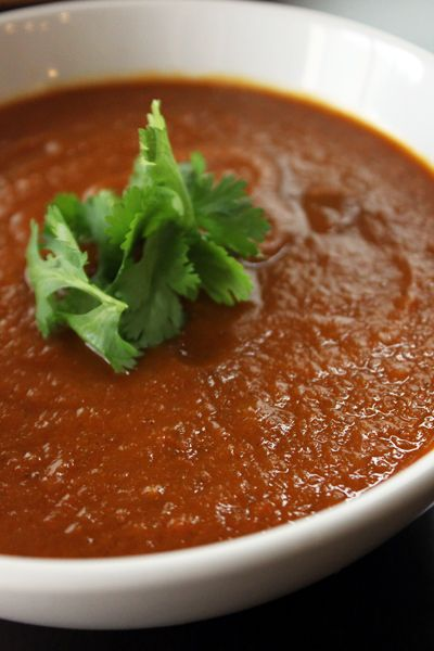 Roasted Eggplant and Tomato Soup | 98 Calories / 2 PointsPlus! Use up ...