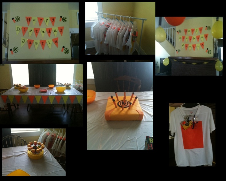 Nerf Birthday Party Supplies | Party Invitations Ideas