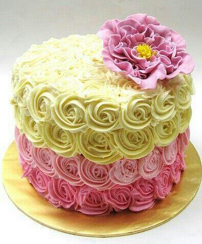 Manisha Birthday Cake Images : Floral cake. Parties Pinterest