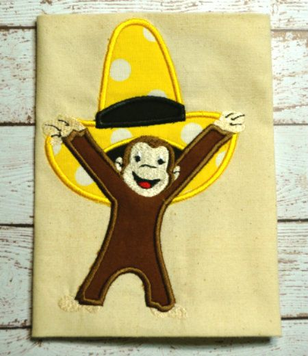 Curious George Designs For Machine Embroidery 2017