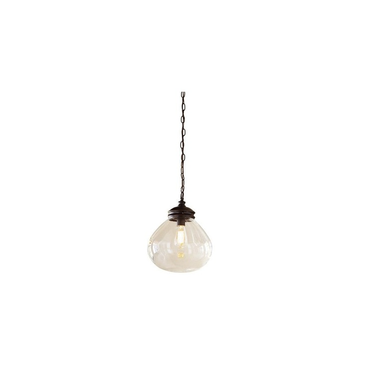 allen roth 12 w bronze edison style pendant light with clear shade. Black Bedroom Furniture Sets. Home Design Ideas