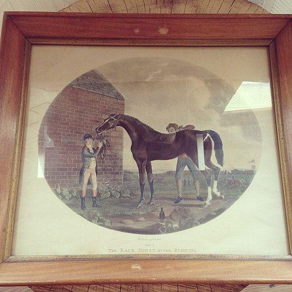 Gooch invt & fecit Plate 3 The Race Horse by PriddysVintage, $80.00