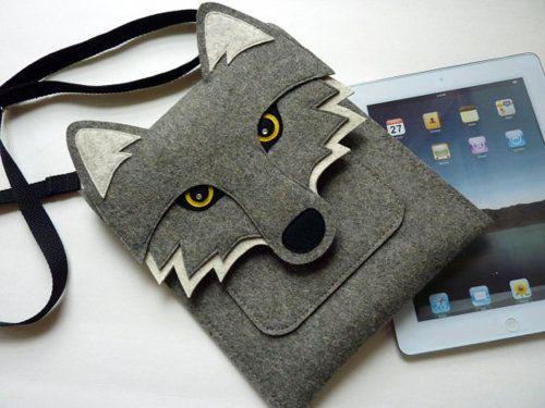 Such a cute iPad pouch.