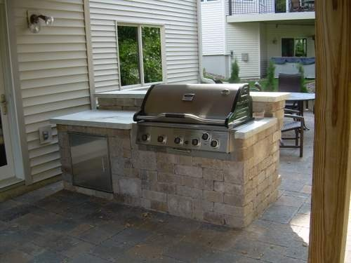 Outdoor bar and grill inspirational home ideas pinterest for Outdoor grill and bar designs