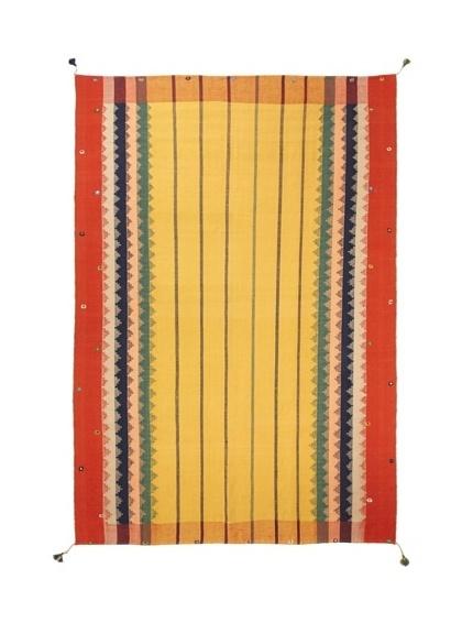 Flatweave Geo Stripes, 8' x 10 rug
