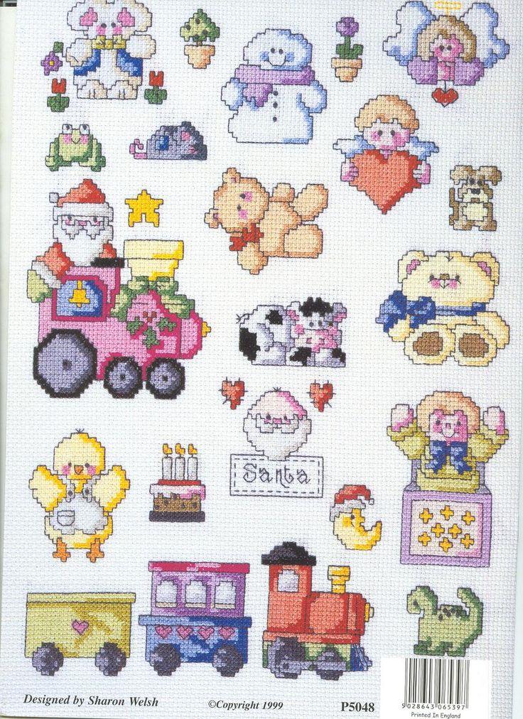Schema punto croce idee 101 cross stitch pinterest for Idee punto croce neonati