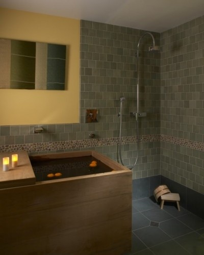 Wet Room Feathering The Nest My Favorite In Homes Decor Pinter